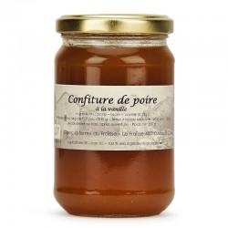 Confiture de poire bio à la vanille