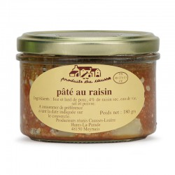 Pâté au raisin