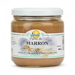 Purée de marrons  nature