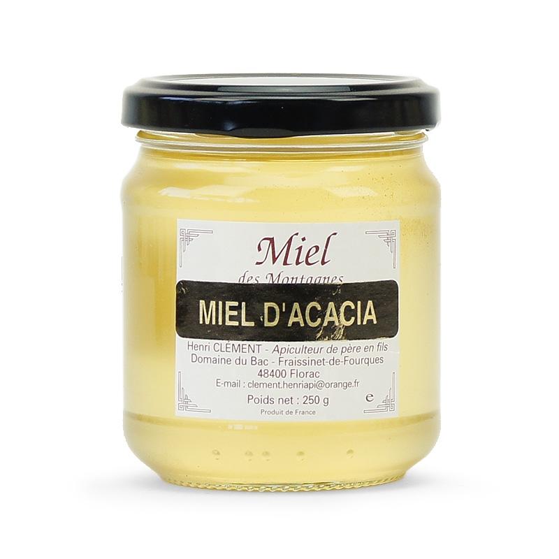 miel d'acacia et fromage blanc