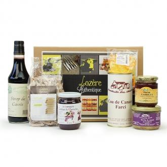 Grand coffret douceur lozérienne saveur sucré/salé